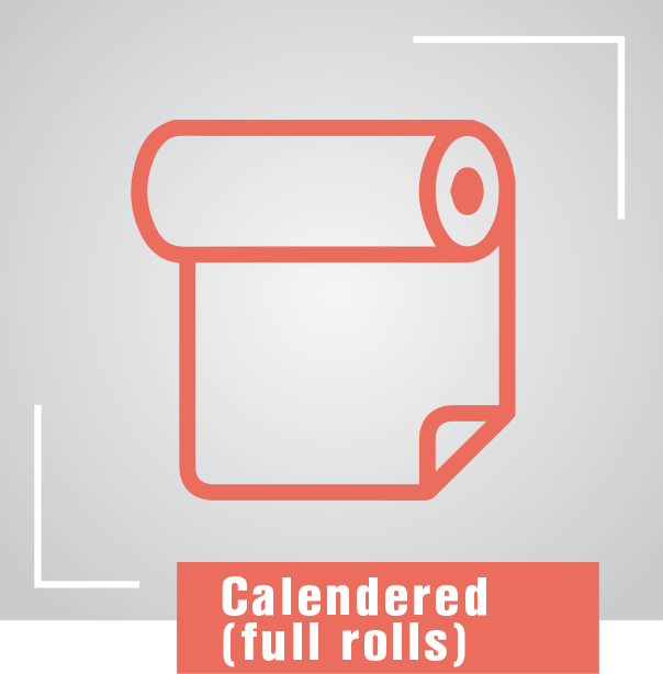Calendered