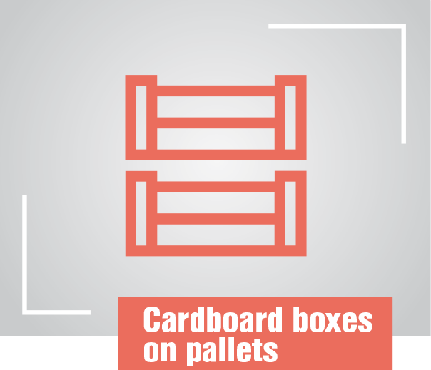 Cardboard-boxes–on-pallets